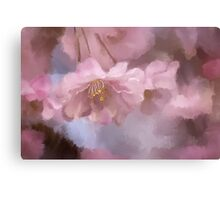 A Profusion Of Playful Pinks Canvas Print