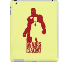 Philanthropist Club iPad Case/Skin