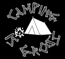 Camping Is Gross by cudatron