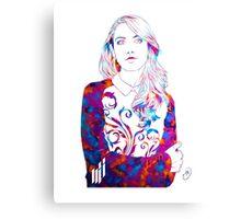 Alison Brie  Canvas Print