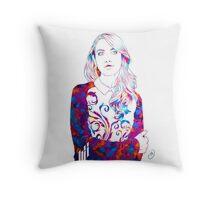 Alison Brie  Throw Pillow
