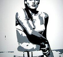 Ursula Andress as Honey Ryder by Dan Carman