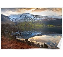 Dawn over Scaffel Pike Poster