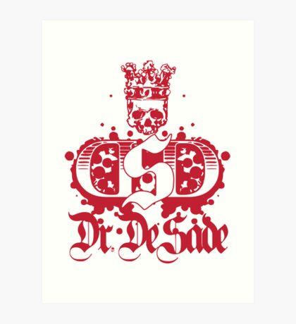 Dr De Sade Logo 2 Art Print