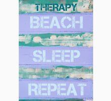 THERAPY BEACH SLEEP REPEAT Unisex T-Shirt