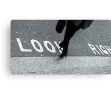 """Look Right!"" Canvas Print"