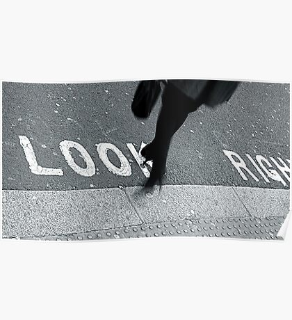 """""""Look Right!"""" Poster"""