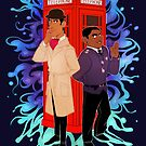 Inspector Spacetime by siins