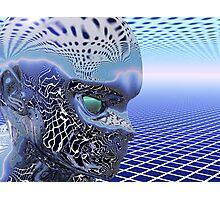 Reflecting Alien Photographic Print