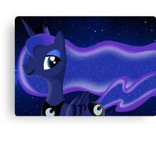 Princess Luna! Canvas Print