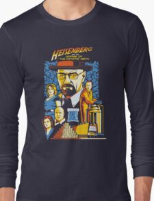 Heisenberg and the Empire of the Crystal Meth Long Sleeve T-Shirt