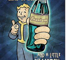 Fallout - Drink Nuka Cola Quantum by Felipeamo99