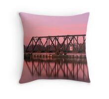 Morning Trestle Throw Pillow