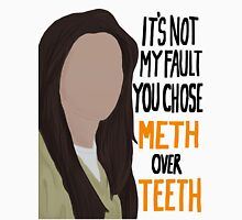 Orange Is The New Black - Meth over teeth quote  Men's Baseball ¾ T-Shirt