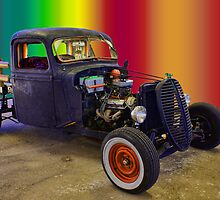Serape Rat Rod by TWindDancer