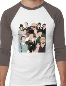 Cult Cinema Men's Baseball ¾ T-Shirt