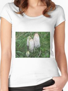 Inky Caps Women's Fitted Scoop T-Shirt
