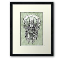 Forest Queen Framed Print