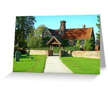 Ancient  Bungalow Greeting Card