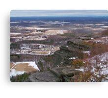 John Boyd Thacher State Park  Canvas Print