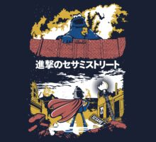 Attack on S. Street Kids Tee
