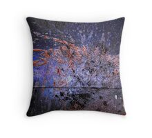 exterior duct Throw Pillow