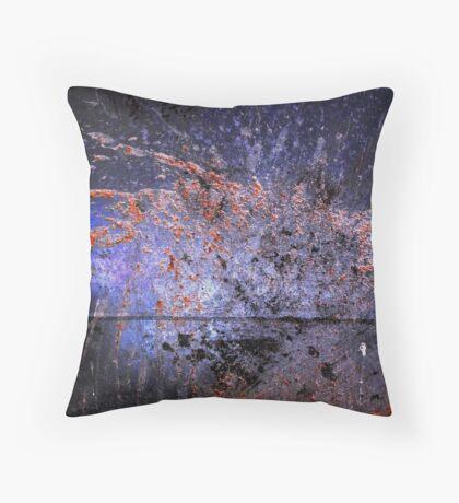exterior duct Throw Pillow