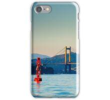 Rande Bridge, Galicia, Spain iPhone Case/Skin