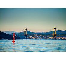 Rande Bridge, Galicia, Spain Photographic Print