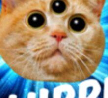 Plurrr Third Eye Kitten #1 Sticker