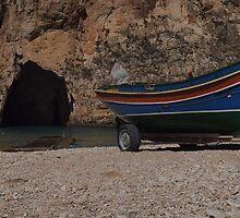 Alone at Dwejra - Gozo by Patrick Anastasi