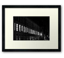 Line of Light Framed Print