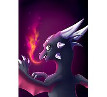 Cynder the Corrupted Cutie Photographic Print