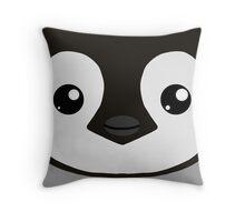 Cuddly Critters: Emperor Penguin Chick Throw Pillow