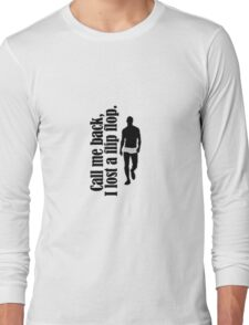 call me, i lost a flip flop - mr robot Long Sleeve T-Shirt