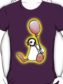 pingu's friend yellow glow T-Shirt