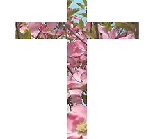 Floral Cross by Rachel Sample