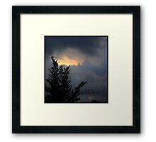puerto rico skies Framed Print