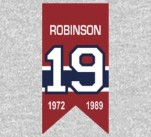 Larry Robinson - retired jersey #19 Baby Tee