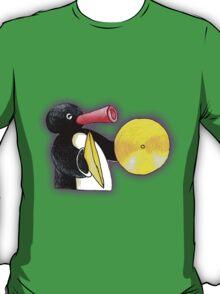 pingu and his music T-Shirt