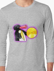 pingu and his music Long Sleeve T-Shirt