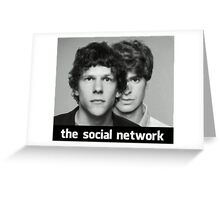 The Social Network Greeting Card