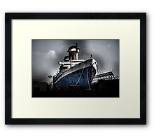 """SS United States"" Framed Print"