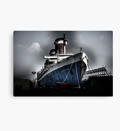 """""""SS United States"""" Canvas Print"""