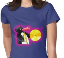 pink pingu Womens Fitted T-Shirt