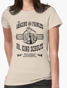 Dr. King Schultz Womens Fitted T-Shirt