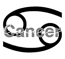 Cancer Astrology Sign Photographic Print