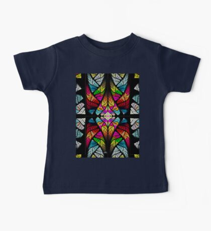stained glass fractal Baby Tee