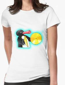blue pingu Womens Fitted T-Shirt