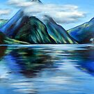 Mitre Peak, Milford Sound, NZ by Ira Mitchell-Kirk